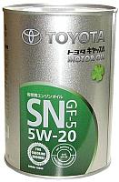Моторное масло Toyota Motor Oil SN GF-5 5W20 / 0888010606 (1л) -