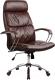 Кресло офисное Metta LK-15 CH (коричневый) -
