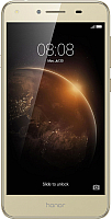 Смартфон Huawei Honor 5A (золото) -
