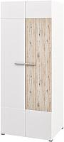 Шкаф Мебель-Неман Селена МН-224-04 (дуб бордо/белый глянец) -