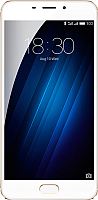 Смартфон Meizu M3E 32GB (золото/белый) -