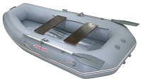 Надувная лодка Мнев и Ко Мурена 270 MP2 (серый) -