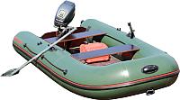 Надувная лодка Мнев и Ко CatFish CF-340 (зеленый) -
