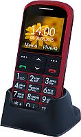 Мобильный телефон Ginzzu R12D (красный) -