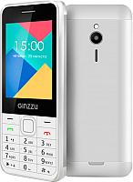 Мобильный телефон Ginzzu M108 Dual (белый) -