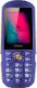 Мобильный телефон Ginzzu R1D (синий) -