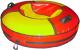 Тюбинг-ватрушка Глобус Water & Snow 120 (красный/желтый) -