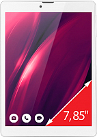 Планшет Ginzzu GT-7810 8Gb 3G (белый) -