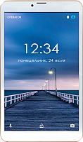 Планшет Ginzzu GT-8010 16GB LTE rev.2 (золото) -