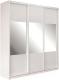 Шкаф Евва 24 BBZ.01 / АЭП ШК.3 01 (Бодега/жемчуг зерно) -