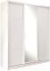 Шкаф Евва 21 BBZ.02 / АЭП ШК.3 02 (Бодега/жемчуг зерно) -