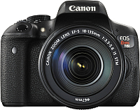Зеркальный фотоаппарат Canon EOS 750D Kit 18-135mm IS -