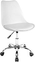 Кресло офисное Halmar Coco (белый) -