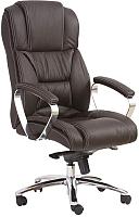 Кресло офисное Halmar Foster (темно-коричневый) -