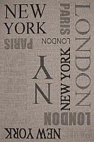 Ковер Devos Caby Magnat 20224 (140x200, Нью-Йорк/серебро) -