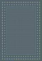 Циновка Balta Fondo 4840/033 (160x230, синий) -