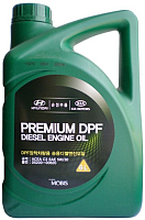 Моторное масло Hyundai/KIA Mobis Premium DPF Diesel 5W30 / 05200-00620 (6л) -