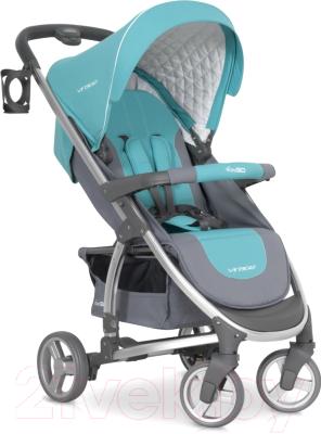 Детская прогулочная коляска EasyGo Virage 2017 (malachite)