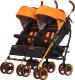 Детская прогулочная коляска EasyGo Duo Comfort (electric orange) -