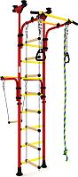 Детский спортивный комплекс Romana Олимпиец 1 ДСКМ-2-8.06.Т1.490.01-22 (красный/желтый) -