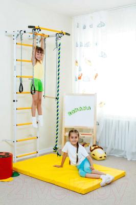 Детский спортивный комплекс Romana S1 ДСКМ-2С-8.06.Г3.490.01-13 (белый антик/золото)