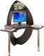 Письменный стол Сокол-Мебель КСТ-101 (венге) -
