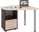 Письменный стол Сокол-Мебель КСТ-102 (левый, венге/беленый дуб) -