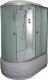 Душевая кабина Coliseum EW-32280M R (белый/матовое стекло) -