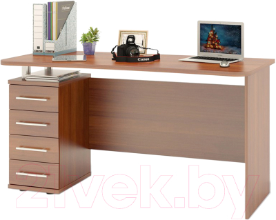 Письменный стол Сокол-Мебель КСТ-105.1 (испанский орех)