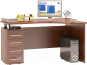Письменный стол Сокол-Мебель КСТ-104.1 (левый, испанский орех) -