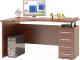 Письменный стол Сокол-Мебель КСТ-104.1 (правый, испанский орех) -