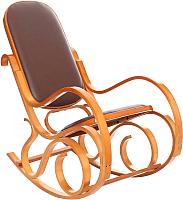 Кресло-качалка Calviano Relax M198 (эко-кожа цельная) -