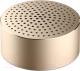 Портативная колонка Xiaomi MI Portable Bluetooth Speaker (золото) -