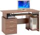 Компьютерный стол Сокол-Мебель КСТ-08.1 (испанский орех) -