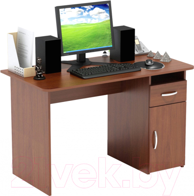 Письменный стол Сокол-Мебель СПМ-03.1 (испанский орех)