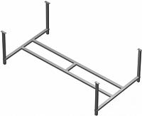 Каркас для ванны Cersanit Intro 160 New / K-RW-INTROx160n -
