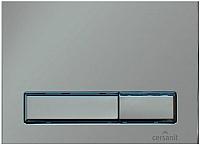 Кнопка для инсталляции Cersanit Leon New Blick / S-BU-BK/Cm (матовый хром) -