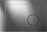 Кнопка для инсталляции Cersanit Leon Geometry / S-BU-GMT/Cg (глянцевый хром) -