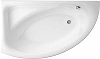 Ванна акриловая Cersanit Meza 160x100 L / P-WA-MEZAx160-LNL (без ножек) -