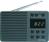 Радиоприемник Supra ST-112 (серый) -