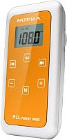 Радиоприемник Supra ST-104 (бело-оранжевый) -