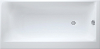 Ванна акриловая Cersanit Smart 160x80 / P-WP-SMARTx160-LNL (без ножек) -