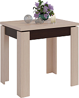 Обеденный стол Сокол-Мебель СО-1 (венге/беленый дуб) -