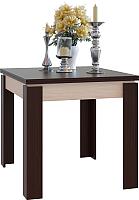 Обеденный стол Сокол-Мебель СО-2 (беленый дуб/венге) -