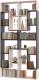 Стеллаж Сокол-Мебель Из 8 модулей (беленый дуб/венге) -