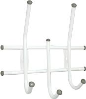 Вешалка для одежды Sheffilton Стандарт 2/3 В2-5-4 (белый/серый) -