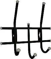 Вешалка для одежды Sheffilton Стандарт 2/3 В2-5-4 (черный/серый) -