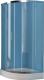 Душевое ограждение Kolpa-San Q-Line TKP/E 90 Silver Transparent -
