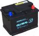 Автомобильный аккумулятор Global 6СТ-60 SMF R (60 А/ч) -