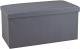 Банкетка Sheffilton SHT-FO8 (серый) -